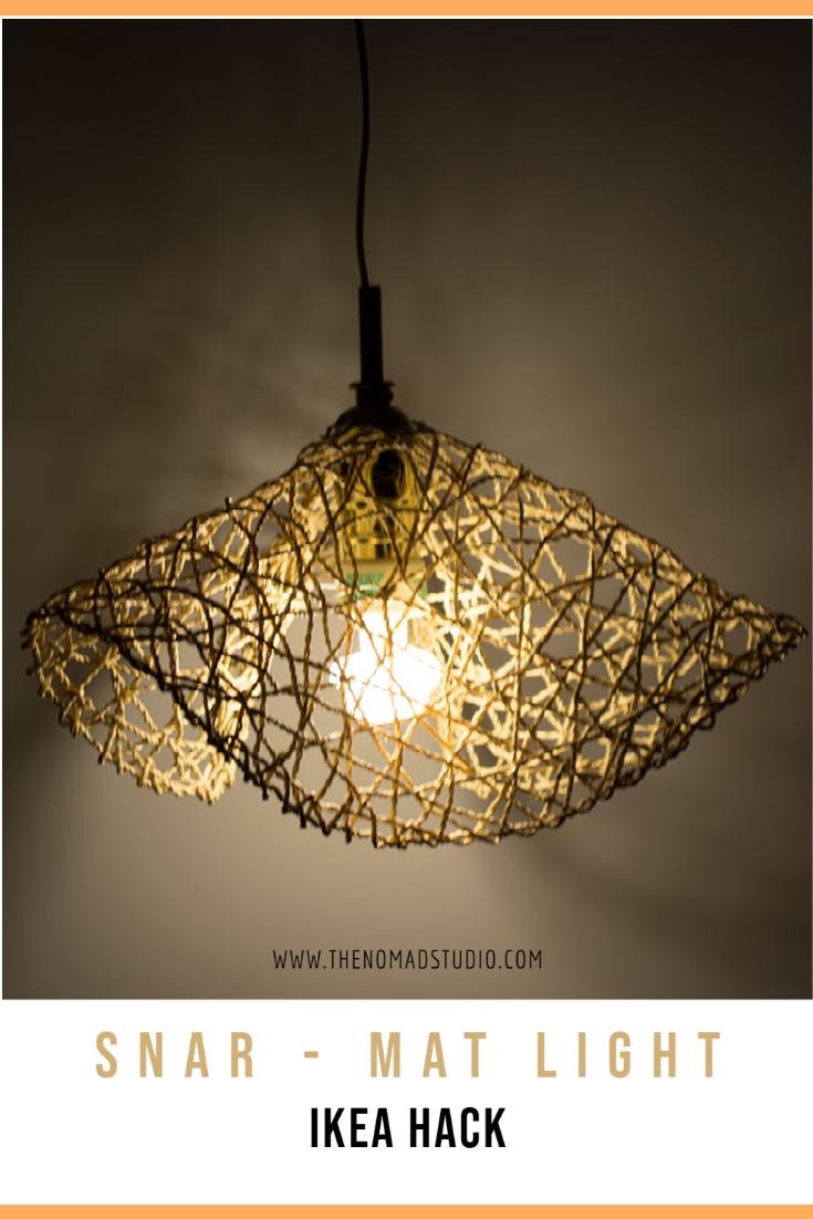 SNAR – mat light – IKEA hack