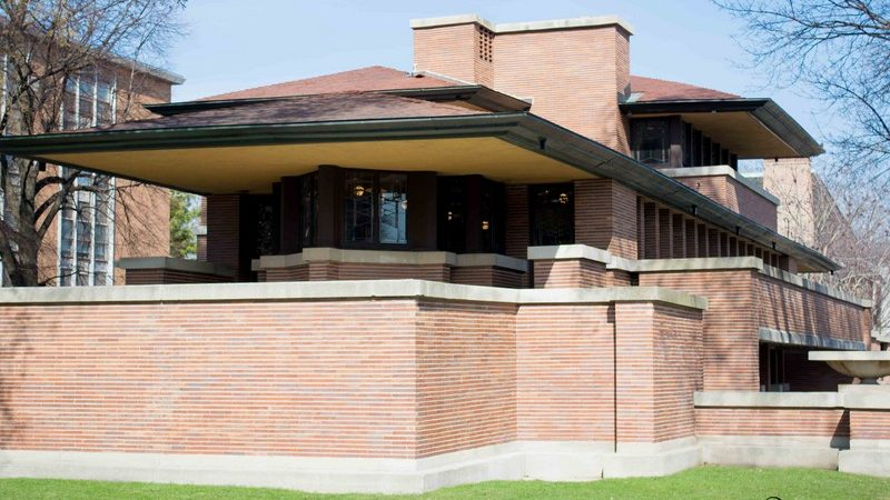 FL Wright's home | Studio and Robie house