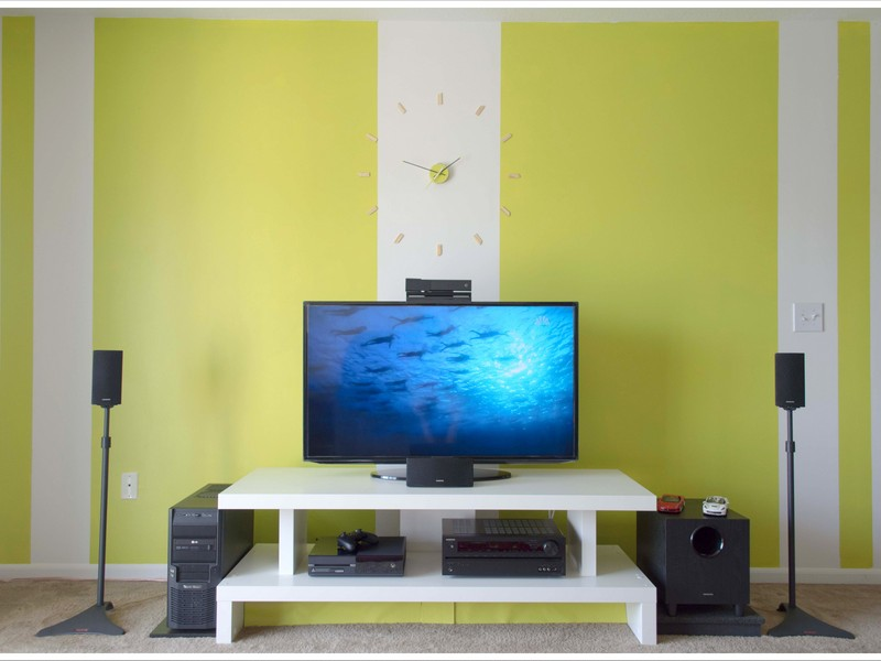 Simple DIY TV Unit – IKEA Hack