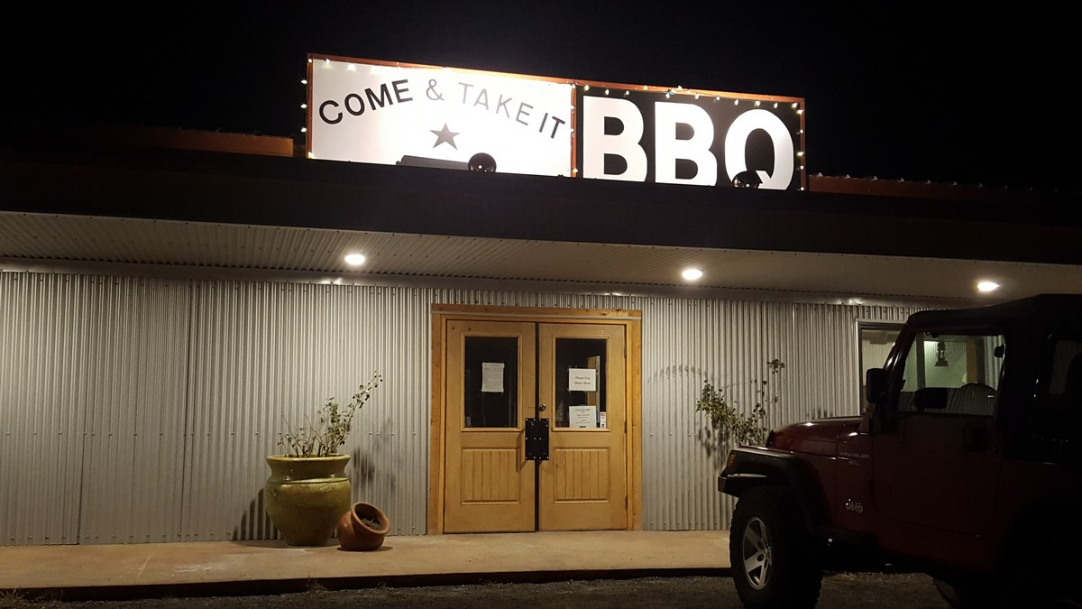 Come and take it BBQ, Alpine, TX