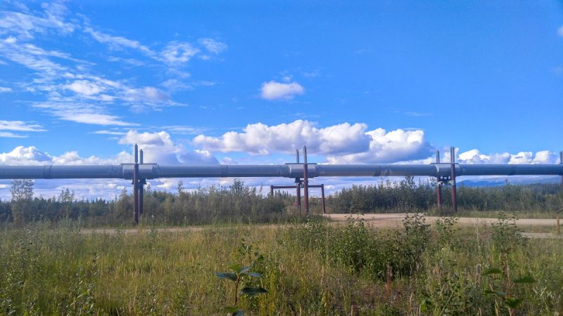 Oil pipeline- Alaska