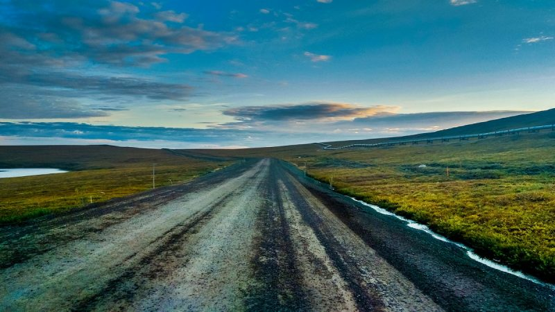 Road View of Dalton highway | thenomadstudio.com |