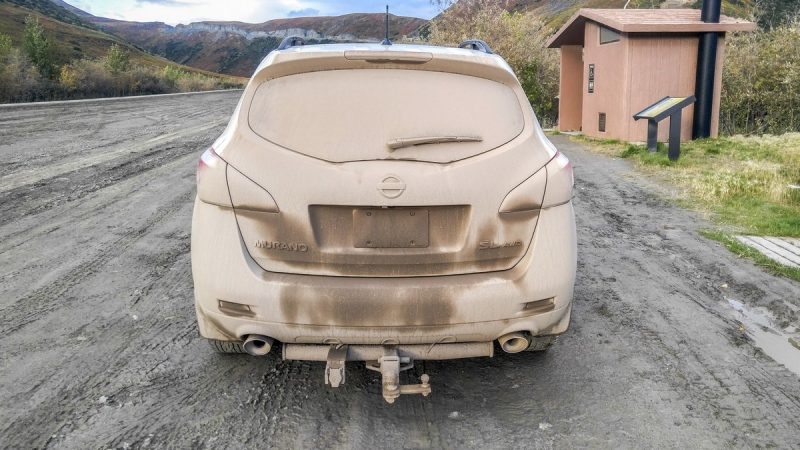 Car condition after making out of dalton highway