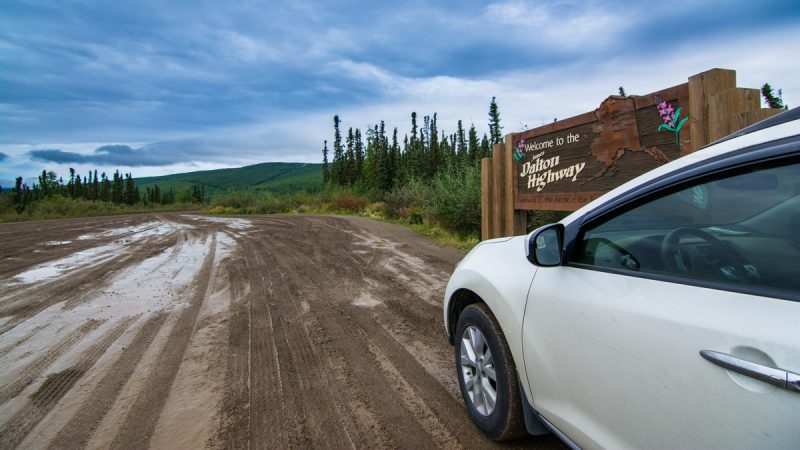 Entering the dalton highway - thenomadstudio
