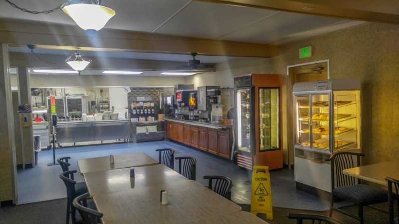Cafeteria at Prudhoe Bay Hotel