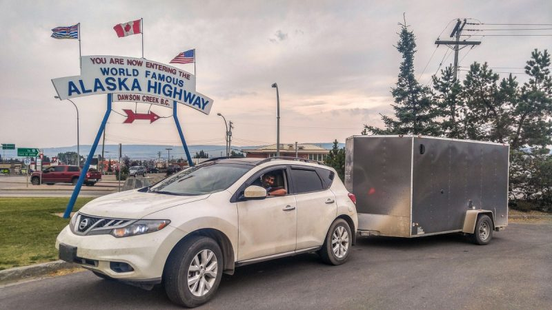 Start of Alaska Highway | Dawson Creek