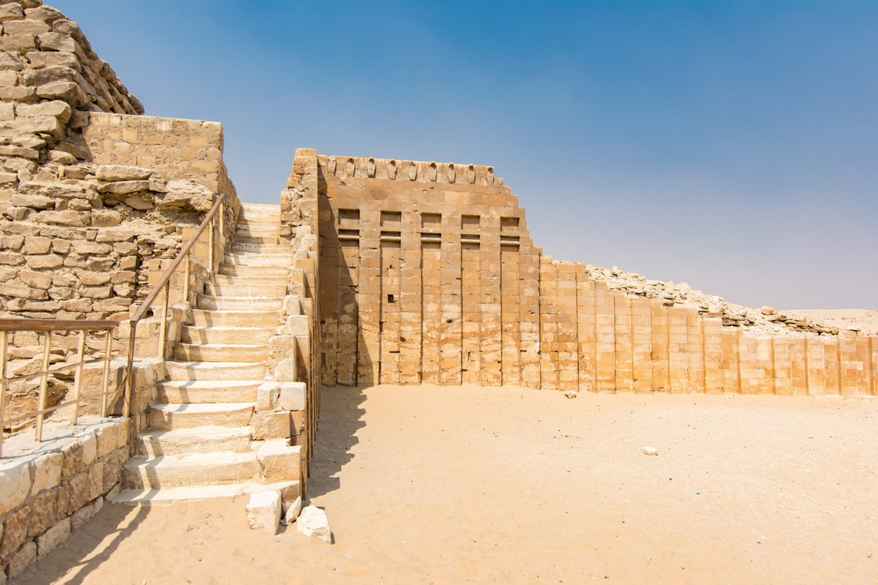 South Tomb at Step Pyramid of Djoser at Saqqara Egypt