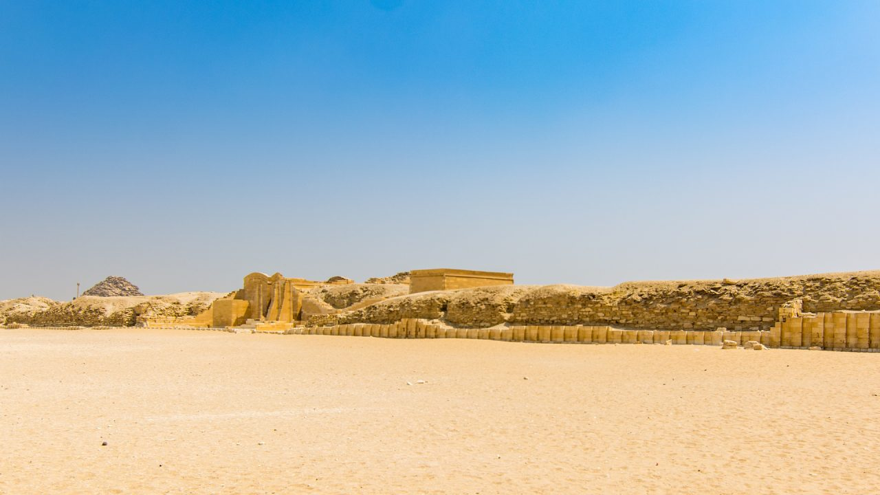 Heb-Sed court at Saqqara