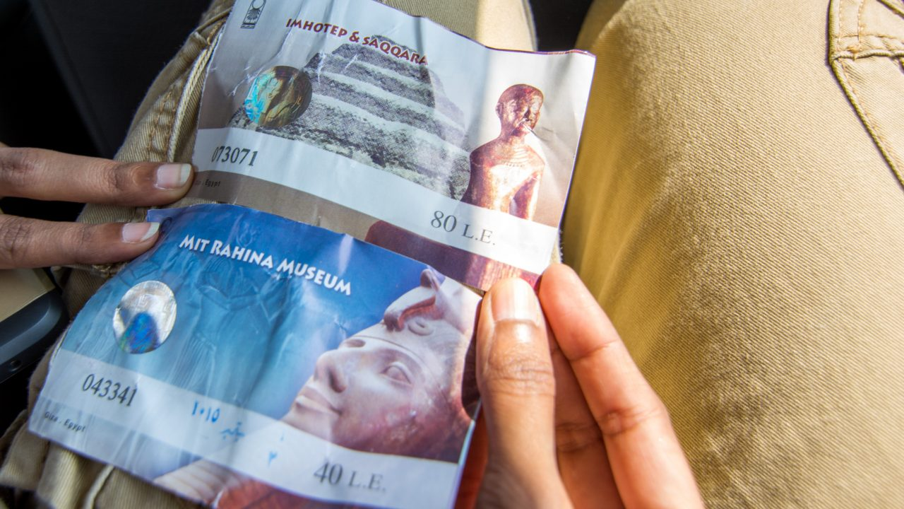 Mit Rahina Museum tickets