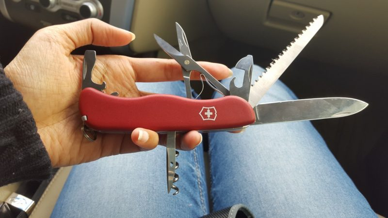 swiss knife - Road Trip Packing checklist