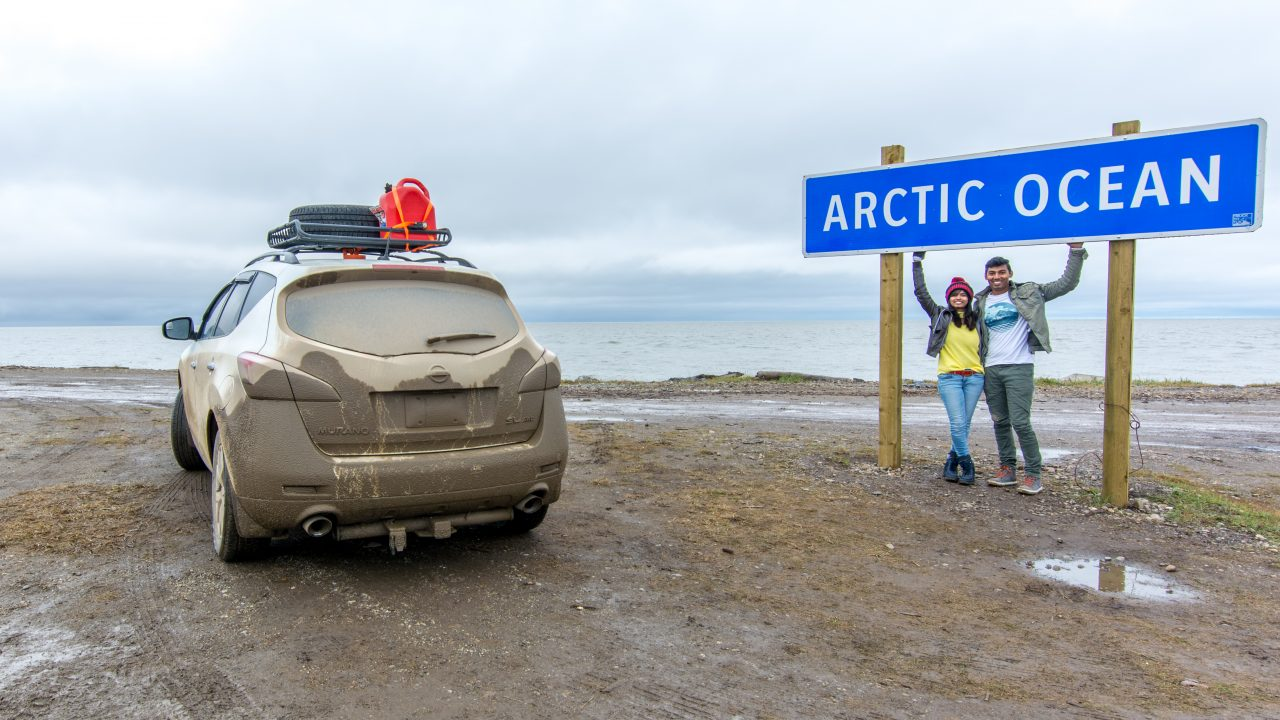 Arctic Ocean at Tuktoyaktuk | The nomad studio