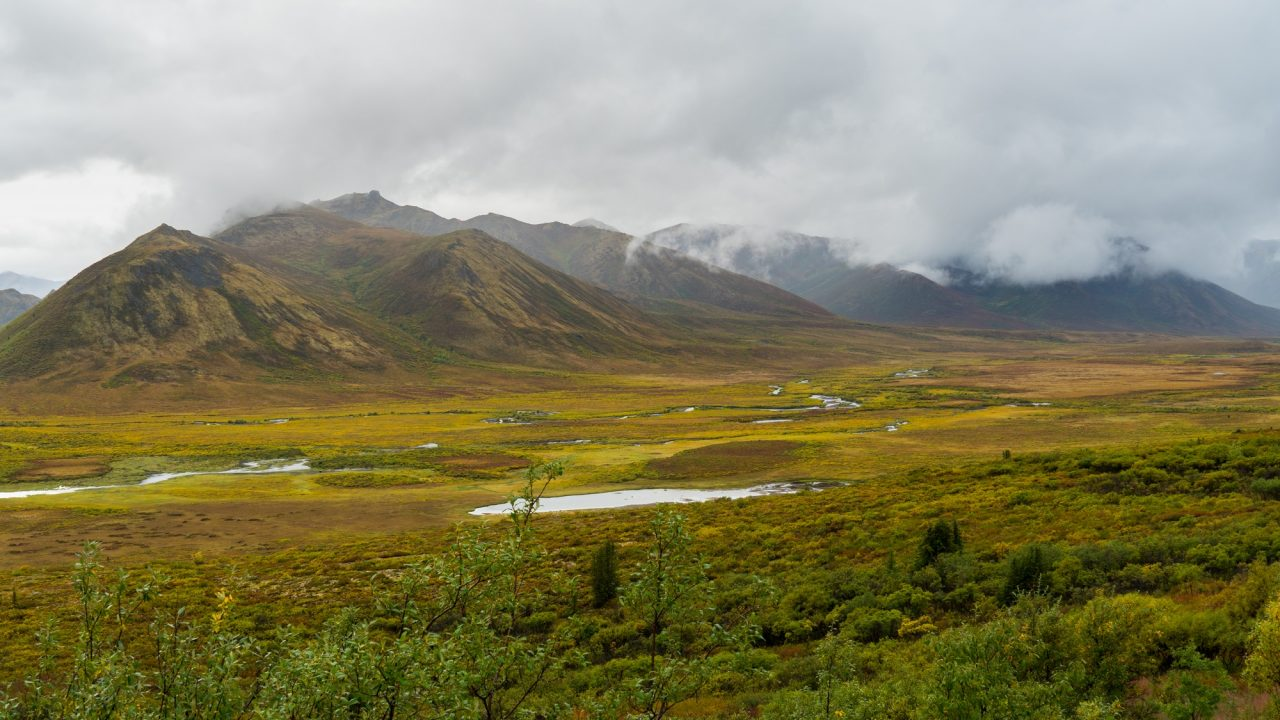 Driving The Dempster Highway To Reach Arctic Ocean