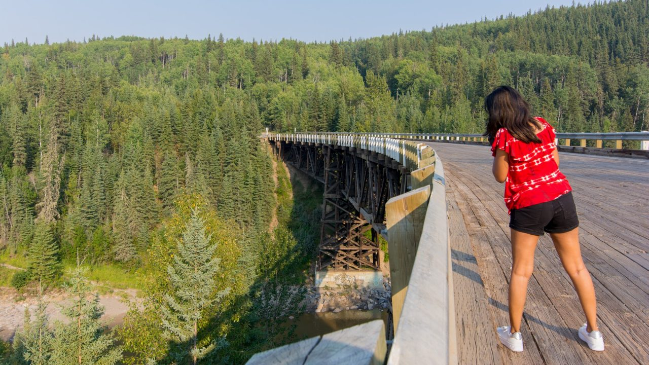 Historic Kiskatinaw Bridge | Alaska Highway
