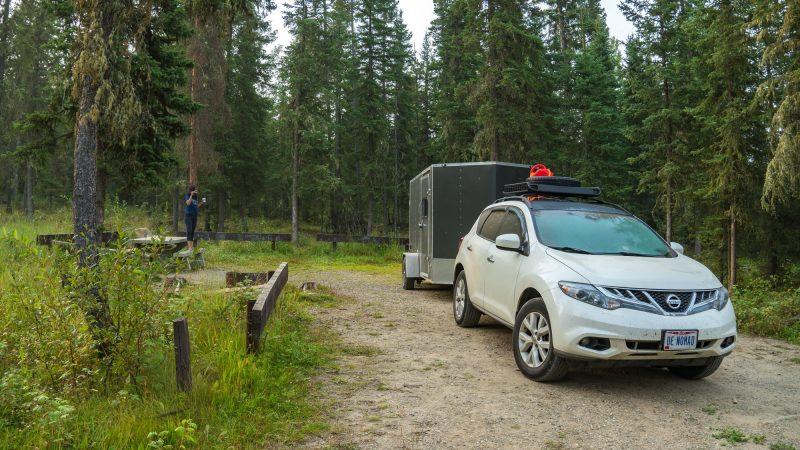 Inga Lake free Campground | British Columbia