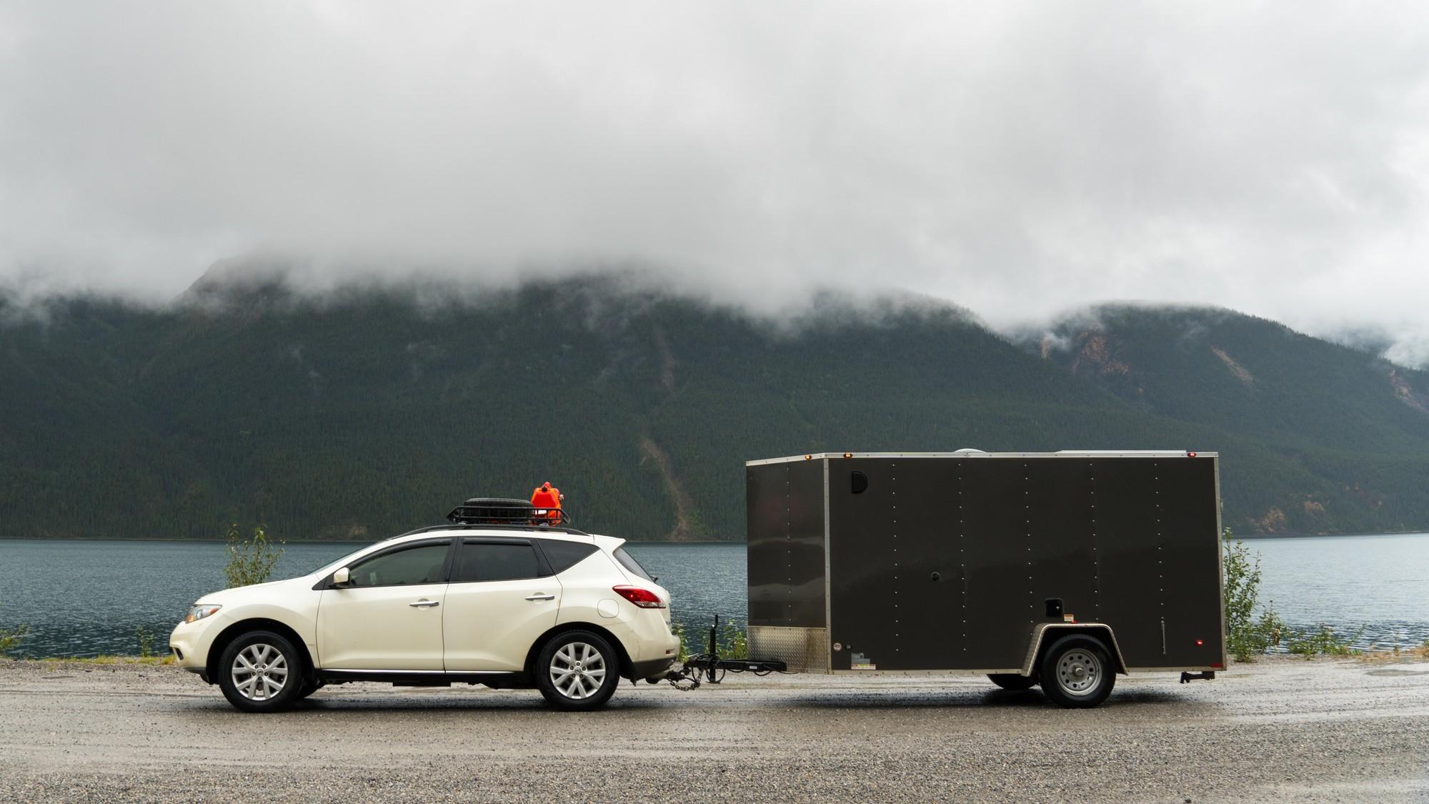 Free camping spots along Alaska highway | 2018