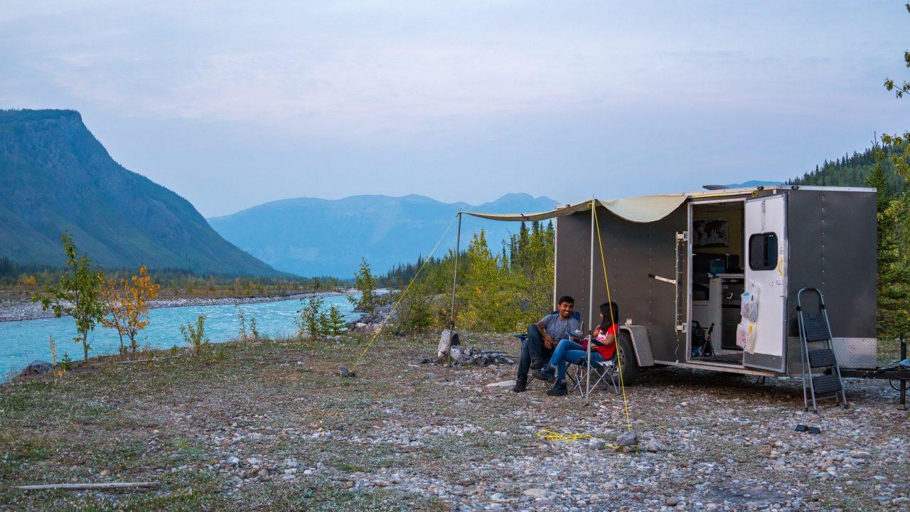 Free camp sites Alaska