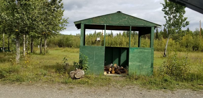 pelly river campground Yukon