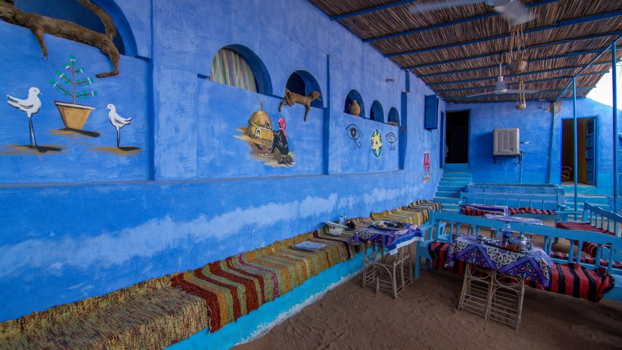 Nubian living area - Best place to see