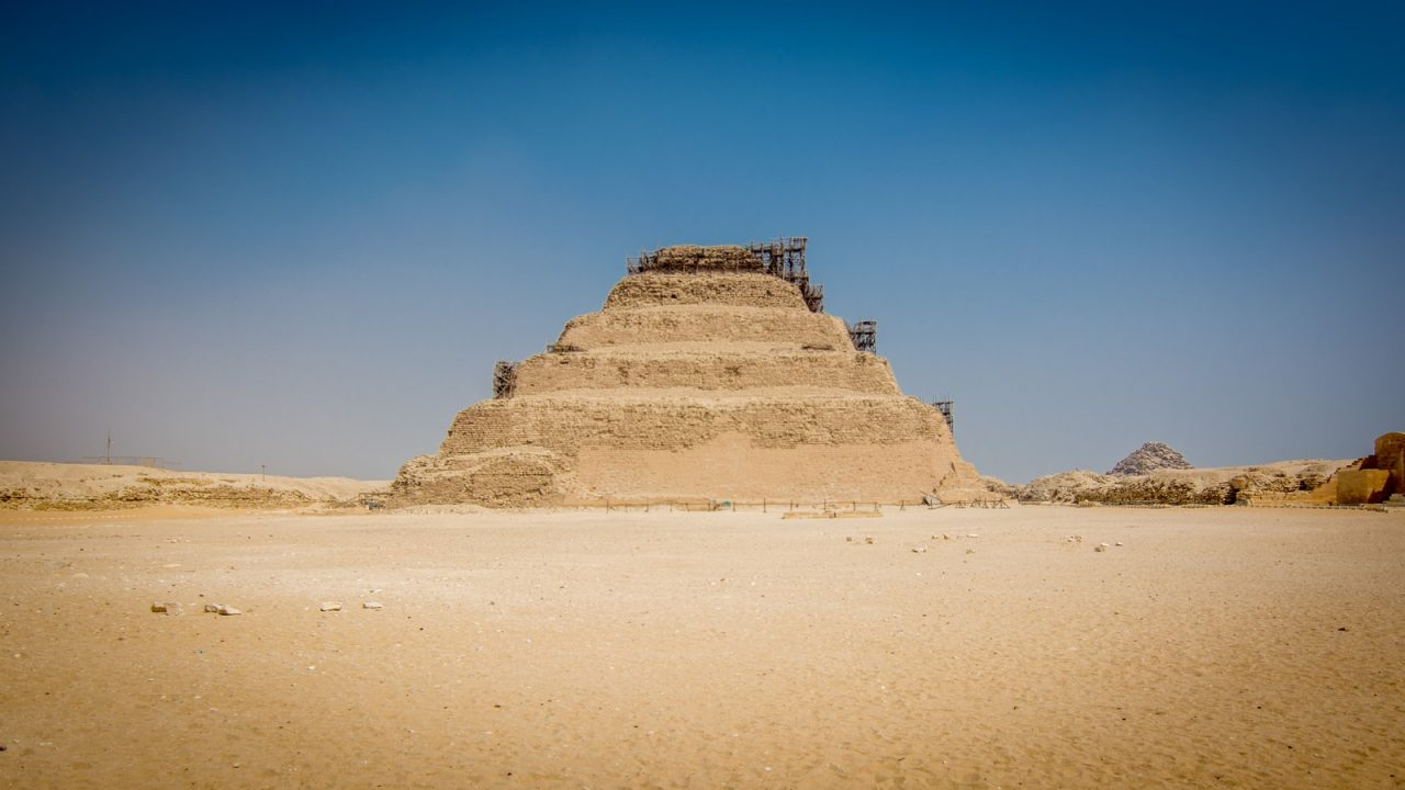 Top places See Egypt saqqara