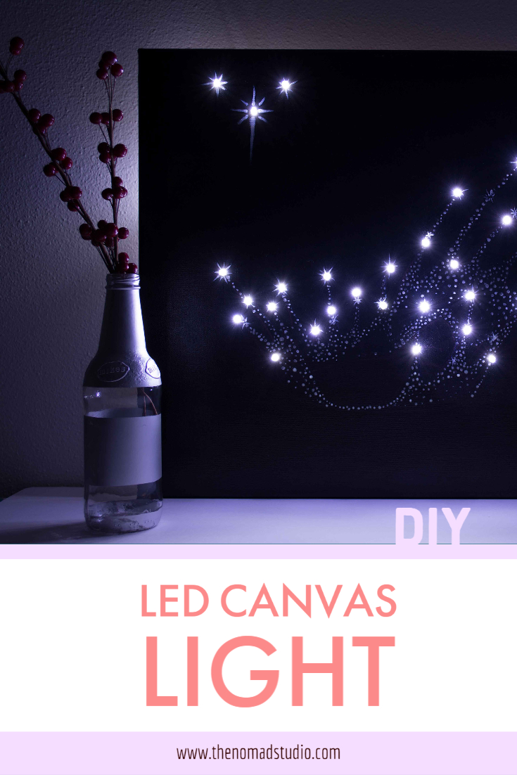 Canvas LED light