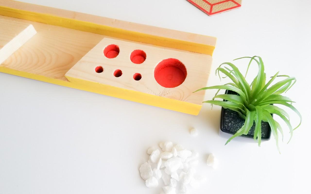 DIY Desk Organizer from scrap wood