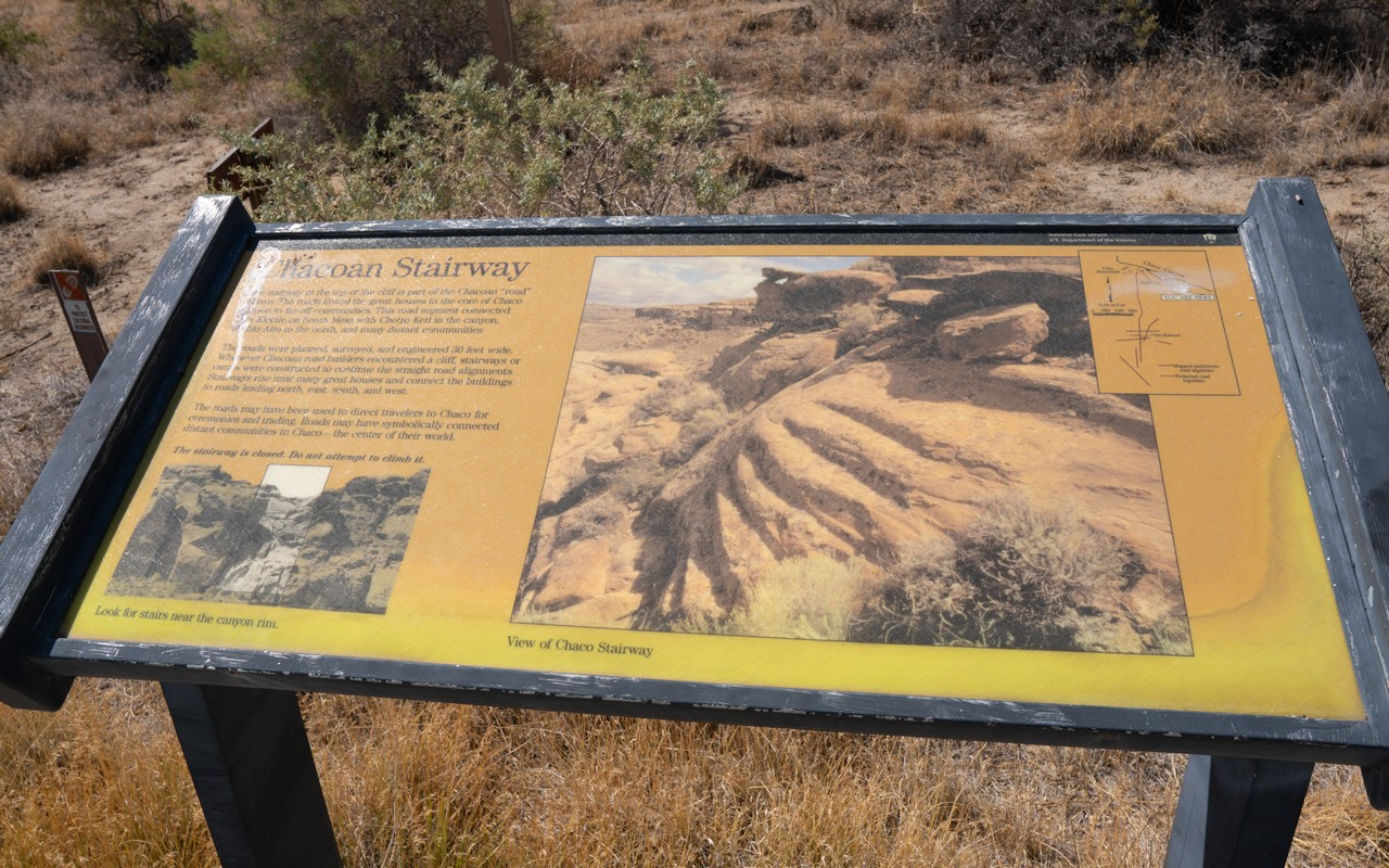 Chaco Culture Historical Park in New Mexico