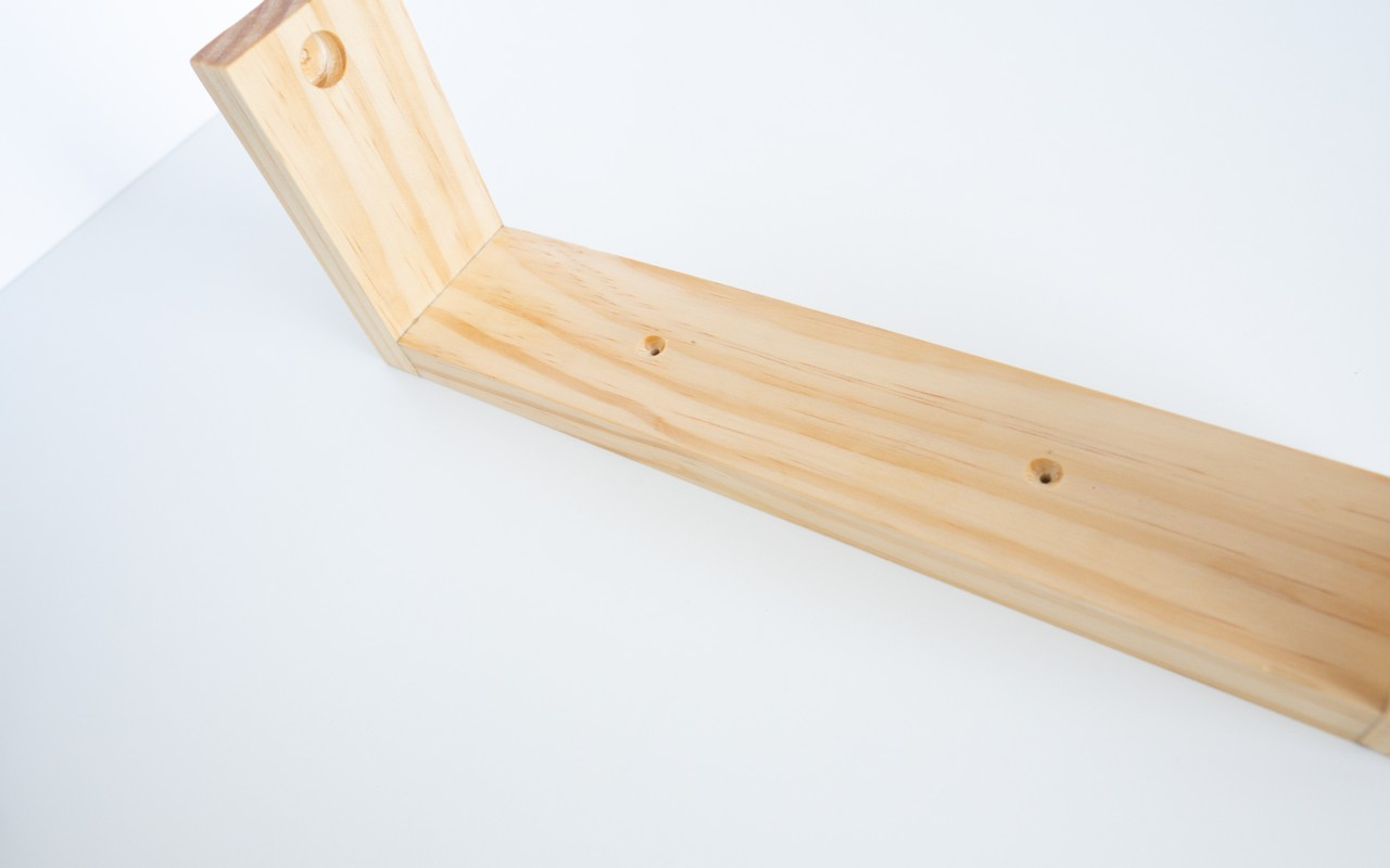 Wooden Paper Towel Holder