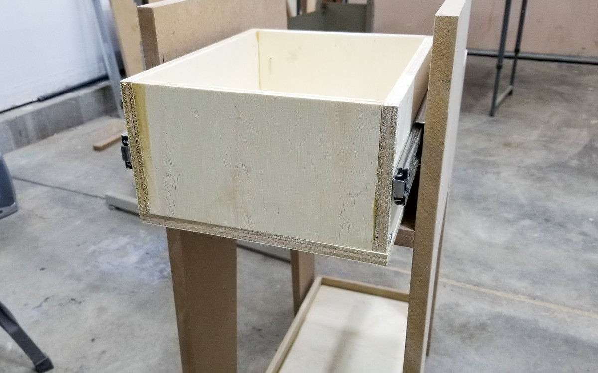 DIY PC Cart/Stand with storage