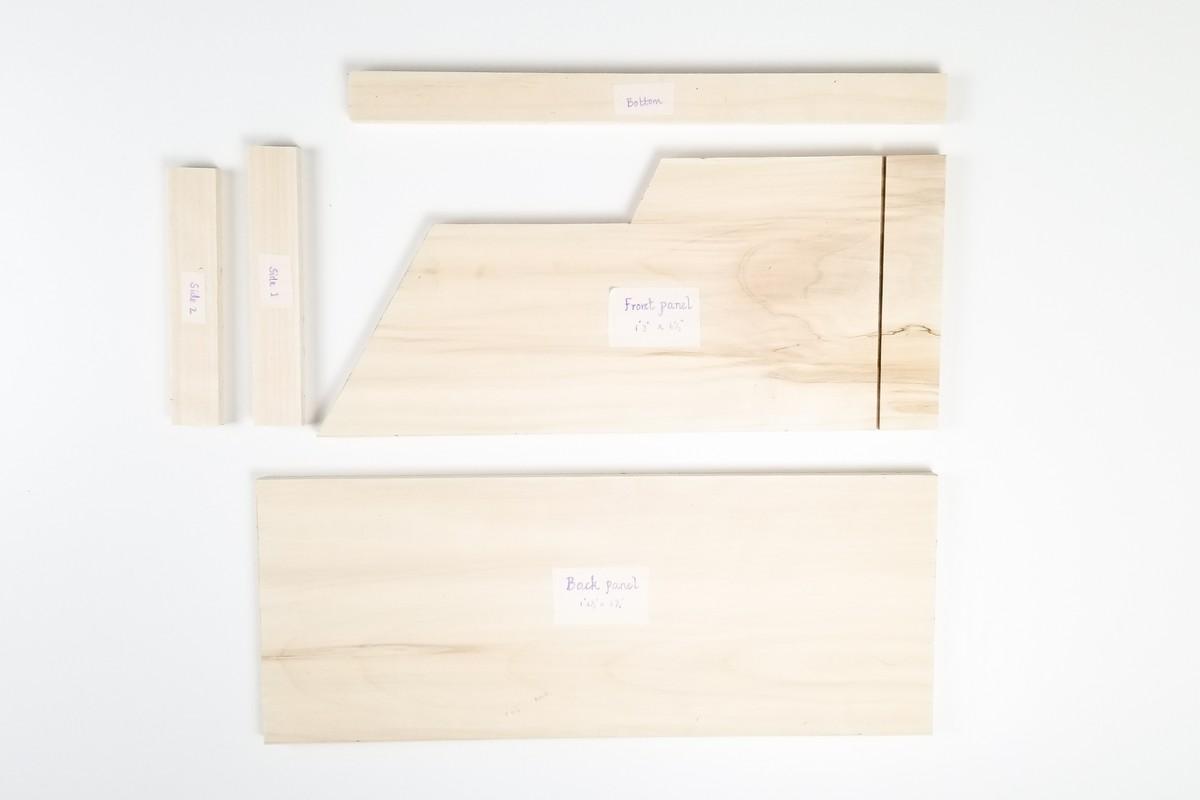 Entryway wall Organizer for keys, wallet & Mails