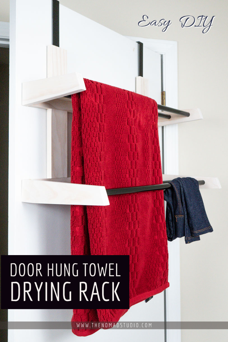 Door Hang Towel Drying Rack