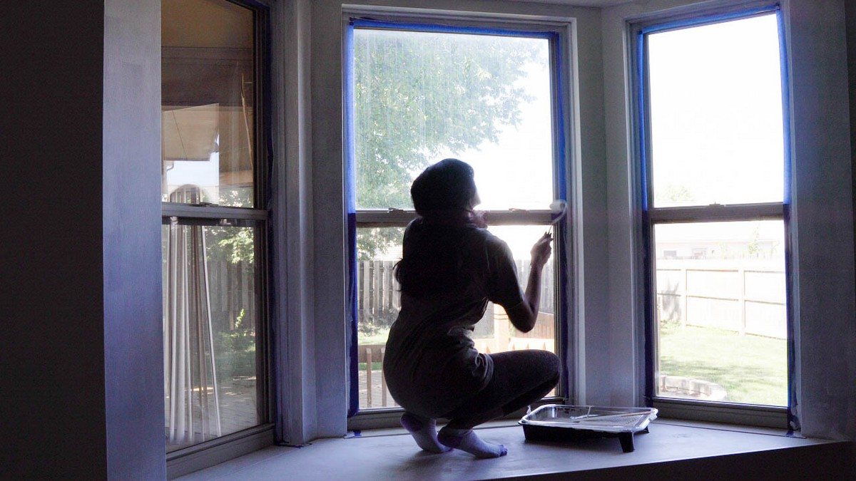 How to Build a floating seat for Bay window